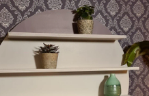 DIY: wall unit with cover