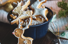 How to store Christmas shortbread?