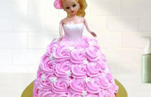 12+ Cutes DollCake Ideas For Baby Girl