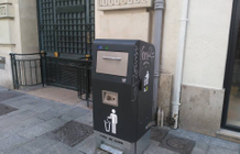 New solar and compactor bins arrive in Marseille