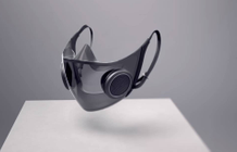 "CES unveiled ""world's smartest"" anti-Covid mask"
