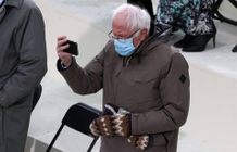 Bernie Sanders' mitten designer is overwhelmed by orders