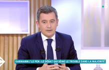 "C to you - Gérald Darmanin attacks Marine Le Pen: ""A nasty enemy of the Republic"""