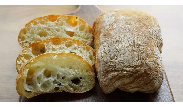 Delicious ciabatta: you forget what store bread is