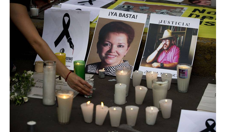 Twice as many journalists murdered in 2020 than last year