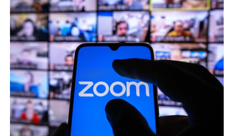 Zoom would work on an email messaging and calendar app