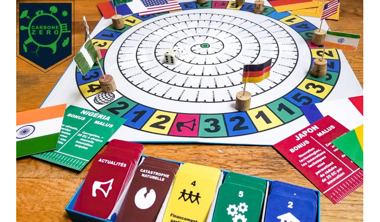 A board game to learn how to reduce your carbon footprint