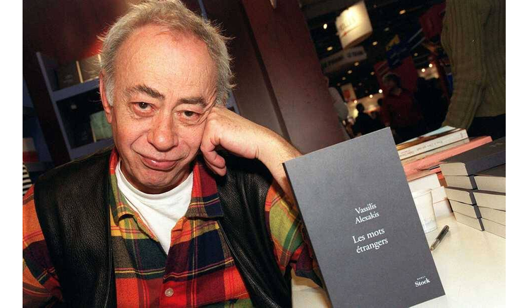 The Franco-Greek writer Vassilis Alexakis, Medici Prize in 1995, is dead