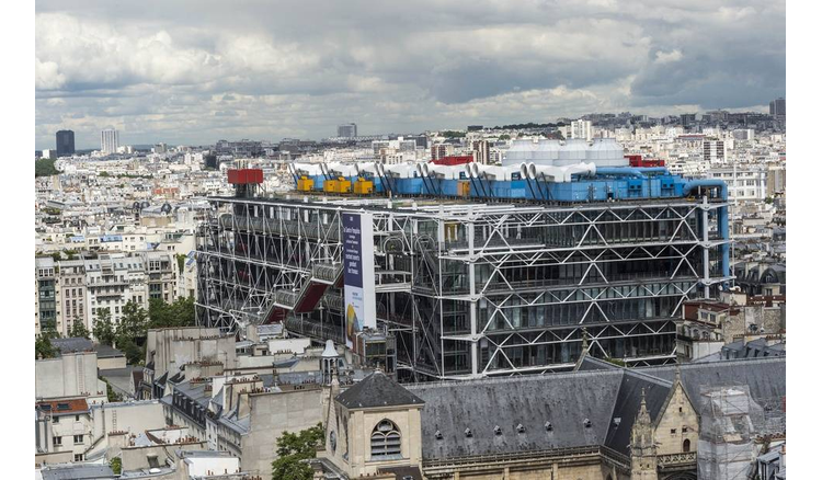 """Complete closure"" of the Center Pompidou for works from 2023 to 2027"