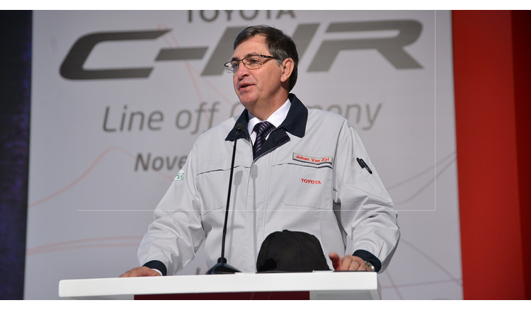 """Dr. Johan van Zyl - Toyota: """"Valenciennes remains our n ° 1 factory"""""""