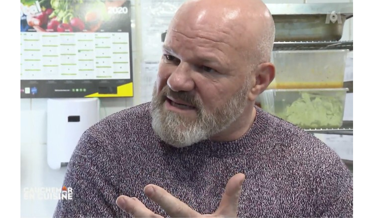 """""""Who is this guy ?""""  : Philippe Etchebest furious after the methods of a cook in Nightmare in the kitchen (VIDEO)"""